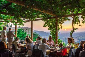 La pergola Radicondoli tuscany